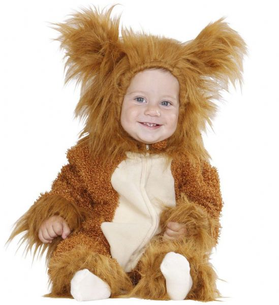 Toddler Fuzzy Lion Baby Costume Animal Fancy Dress